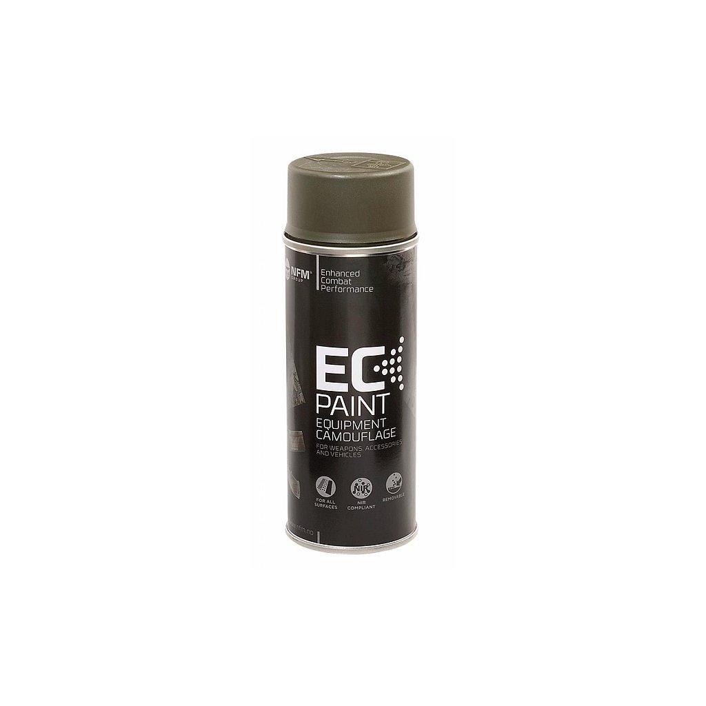 Maskovací barva ve spreji NFM EC Paint Olive Drab