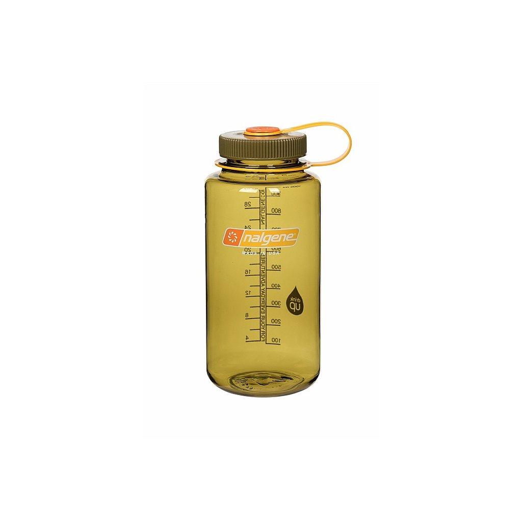 Láhev Nalgene Wide Mouth 1000 ml Olive