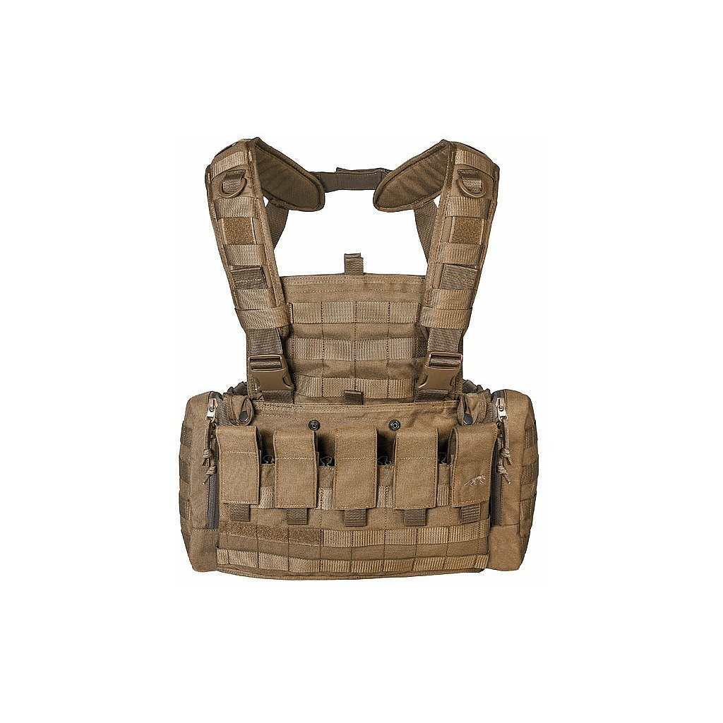 Tasmanian Tiger Chest Rig MKII M4 Coyote Brown