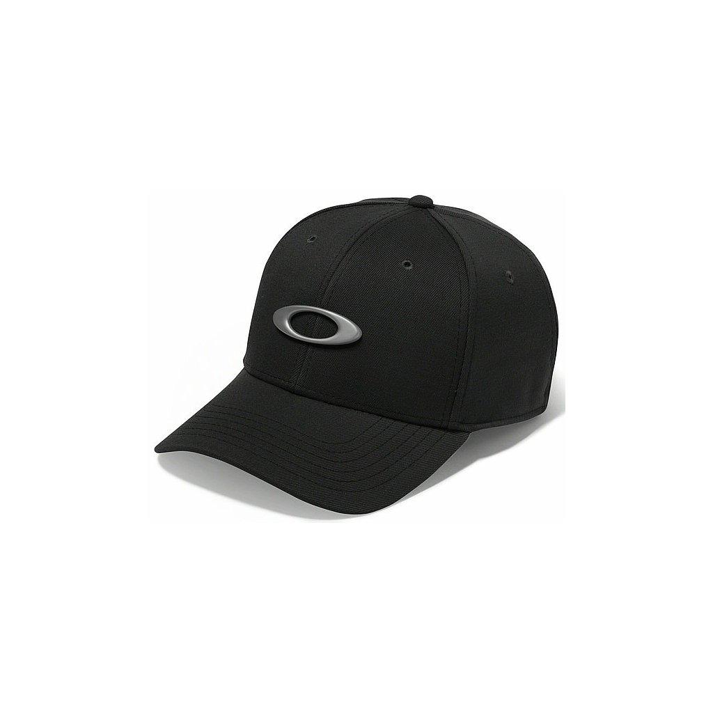 Kšiltovka Oakley Tincan Cap Jet Black
