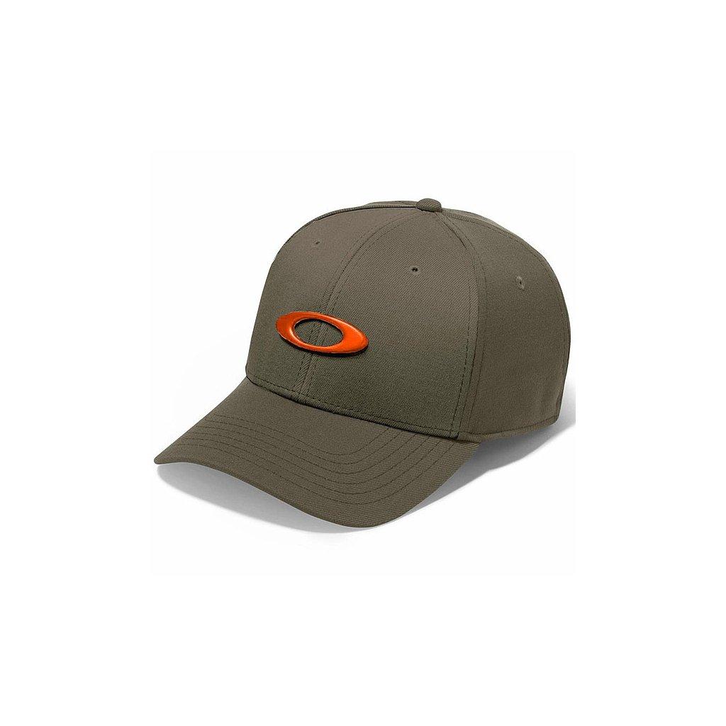 Kšiltovka Oakley Tincan Cap Dark Brush