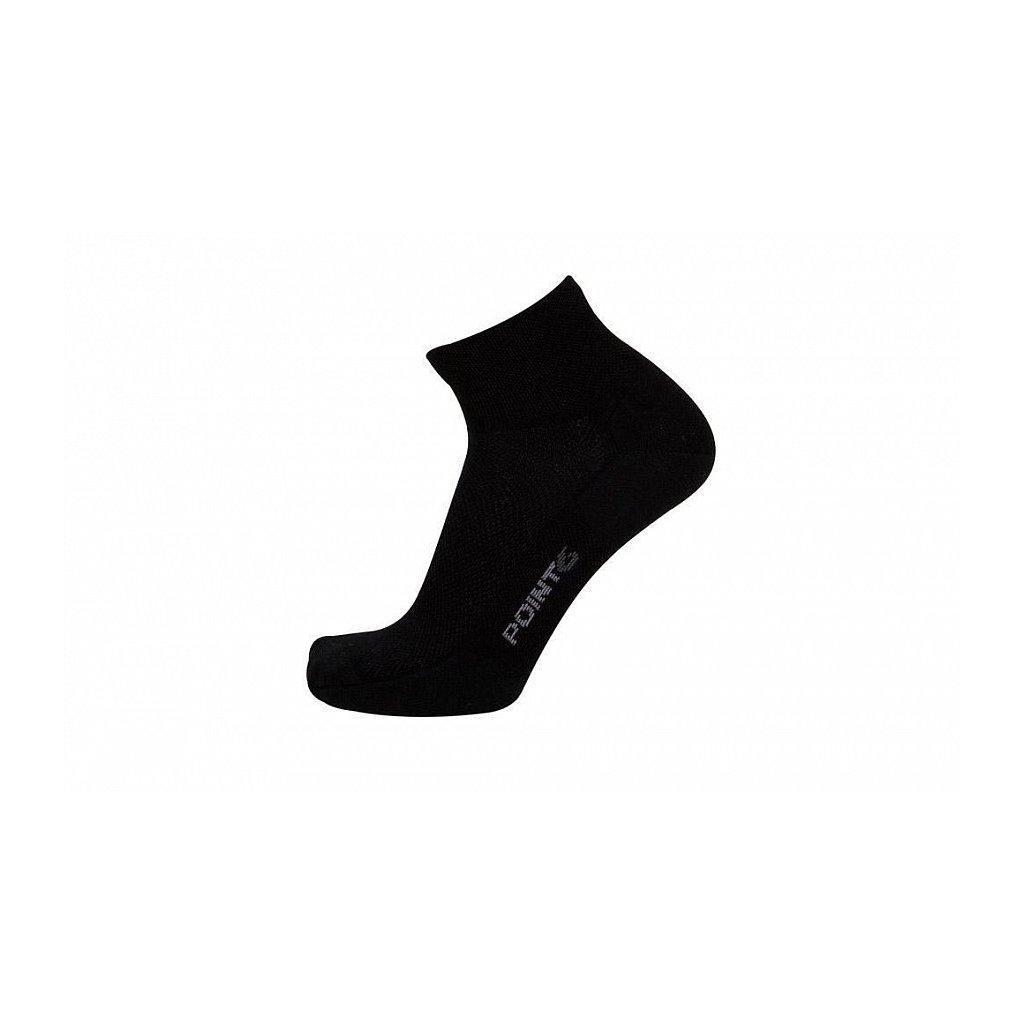 Merino Ponožky Point6 37.5 Tactical Trainer Černé