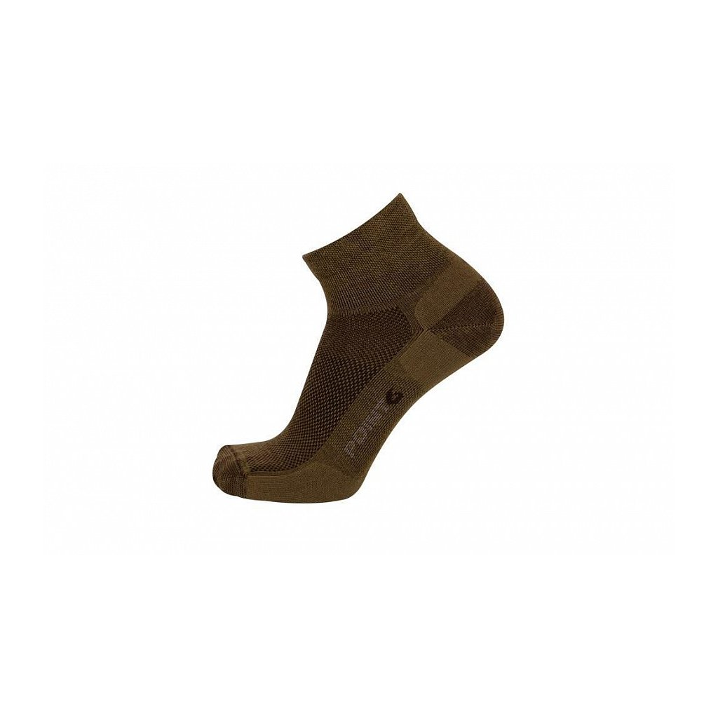 Merino Ponožky Point6 37.5 Tactical Trainer Coyote Brown