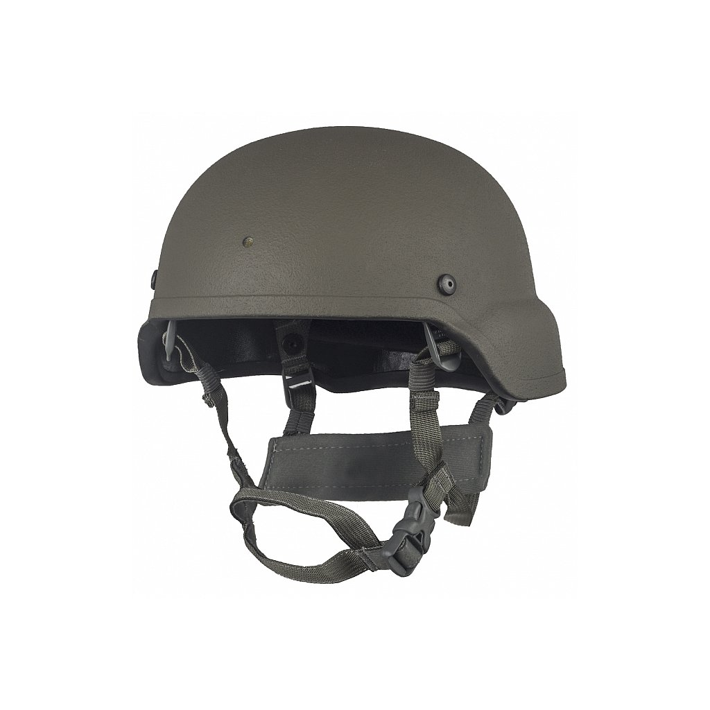 Balistická Helma Combat Systems ACH Mid Cut Ranger Green