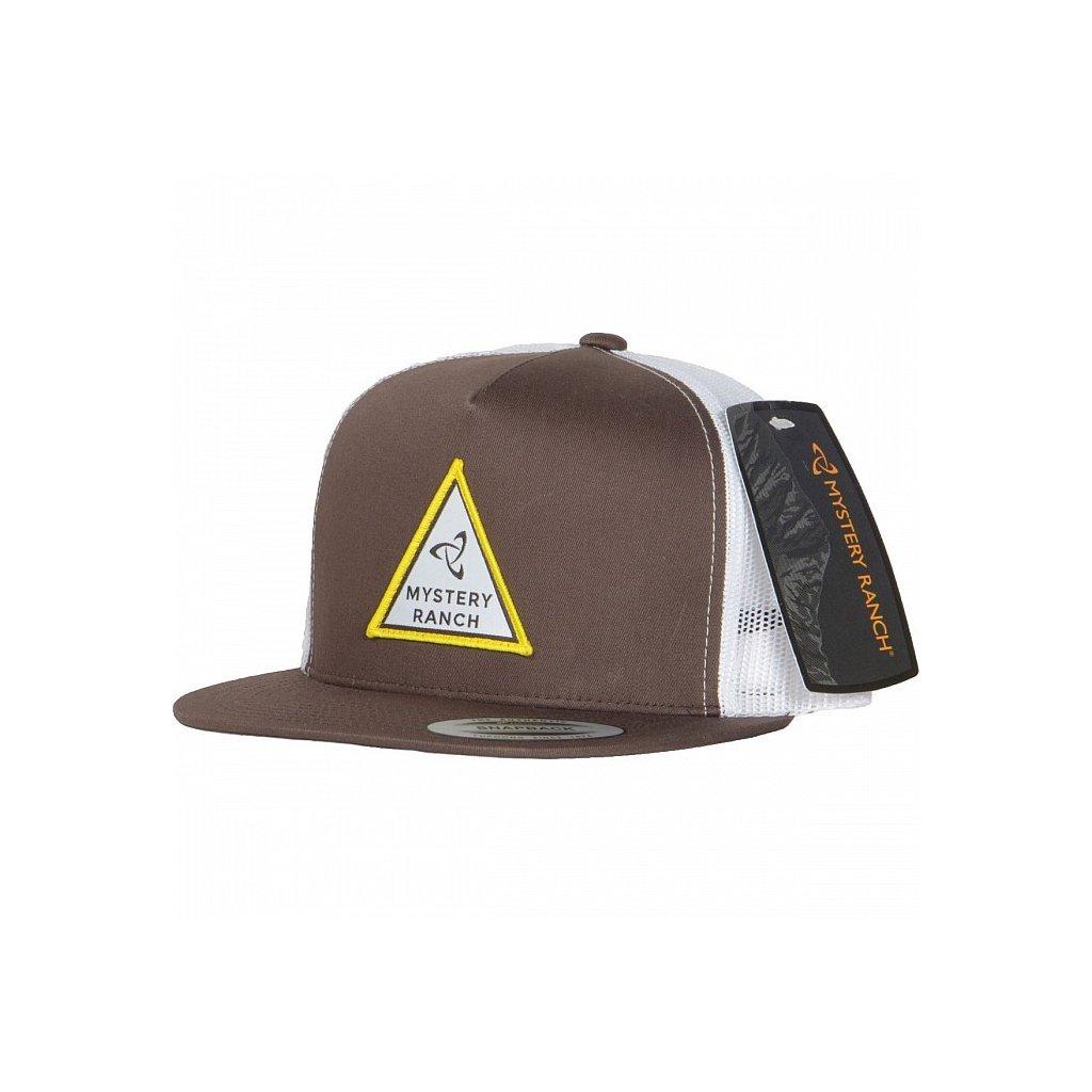ws19 triangle trucker hat brown 20