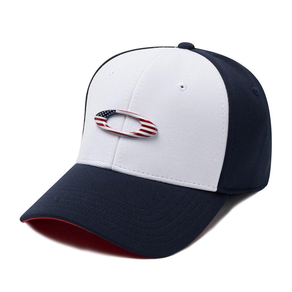 Kšiltovka Oakley Tincan Navy/Bílá