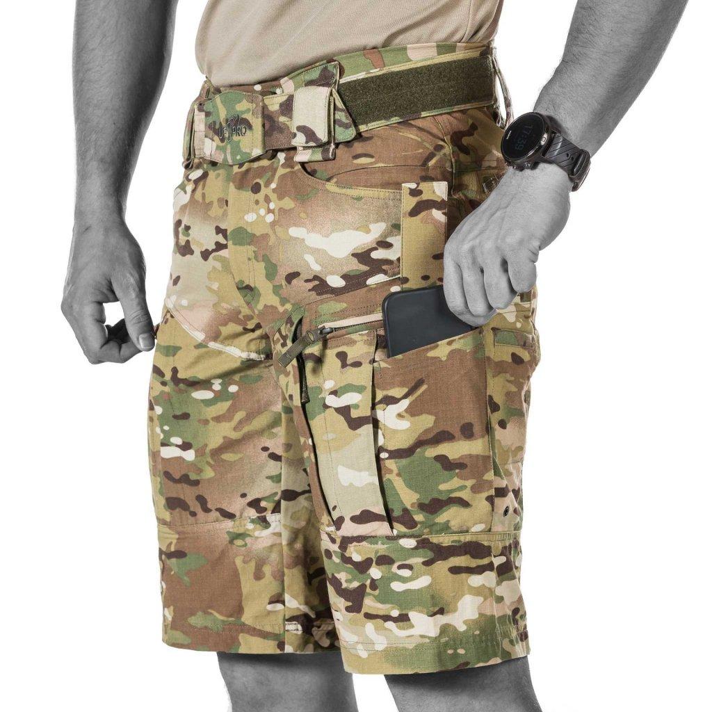 Kraťasy UF PRO P-40 Gen. 2 Tactical Shorts Multicam