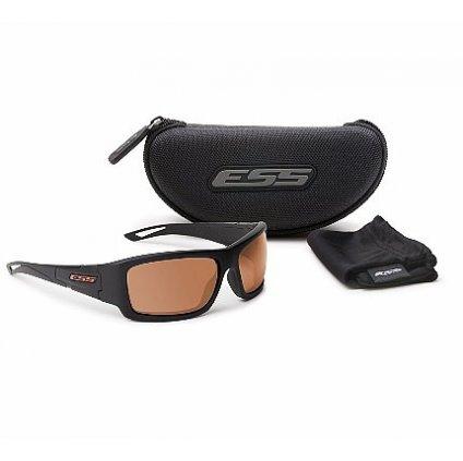 Střelecké Brýle ESS Credence Black Cooper Lenses