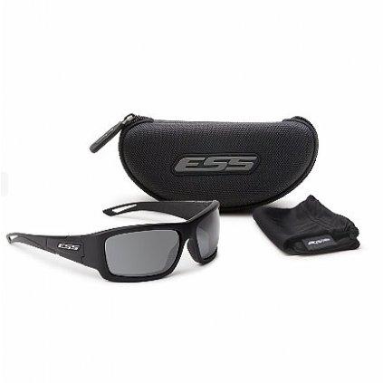 Střelecké Brýle ESS Credence Black Smoke Grey Lenses
