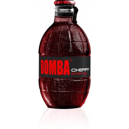 Energetický nápoj BOMBA! 250ml - Třešeň