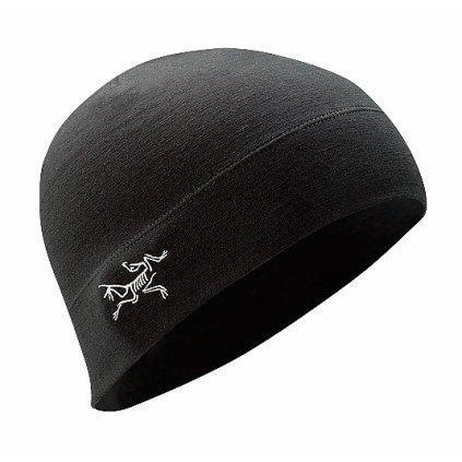 Kulich Arc'teryx LEAF Rho LTW Beanie Černý
