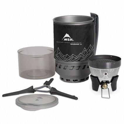 Plynový vařič MSR WindBurner 1L Černý