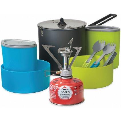 Kompaktní sada nádobí s vařičem - MSR PocketRocket Stove Kit