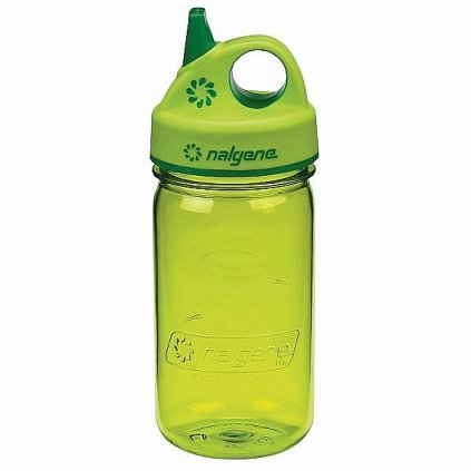 Láhev Nalgene Grip´n Gulp 300 ml Zelená