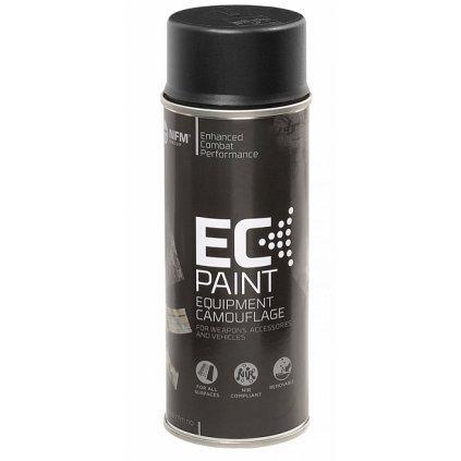 Maskovací barva ve spreji NFM EC Paint Černá