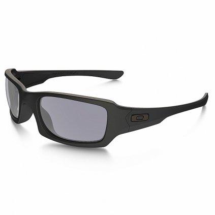 Střelecké Brýle Oakley Fives Squared Matte Black Polarizační