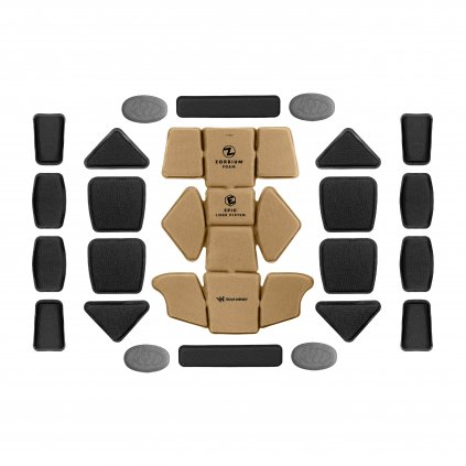 Team Wendy EPIC Combat Pads System Coyote Brown