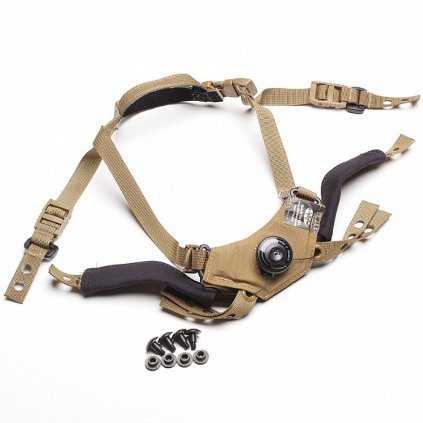 Team Wendy CAM FIT Retention System Coyote Brown
