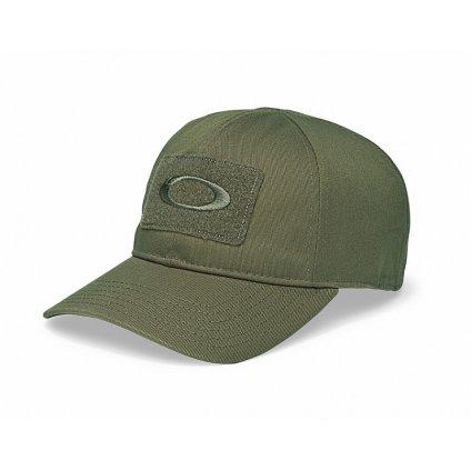 Kšiltovka Oakley SI Cotton Cap Worn Olive