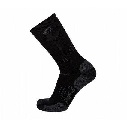 Merino Ponožky Point6 37.5 Tactical Defender Černé