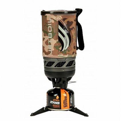 Plynový vařič Jetboil Flash Camo