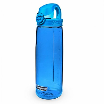 Láhev Nalgene OTF 650ml Emergency Blue