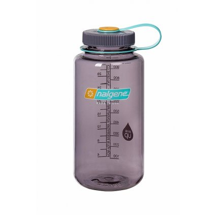 Láhev Nalgene Wide Mouth 1000 ml Aubergine