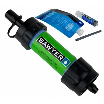 0002233 sp101 green sawyer mini water filtration system