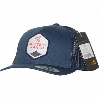 ws19 hexagon trucker hat navy 30