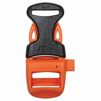 Přezka s píšťalkou na náramek ITW NEXUS Oranžová / Černá