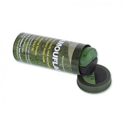 Maskovací barvy na obličej BCB zelená / černá 60g