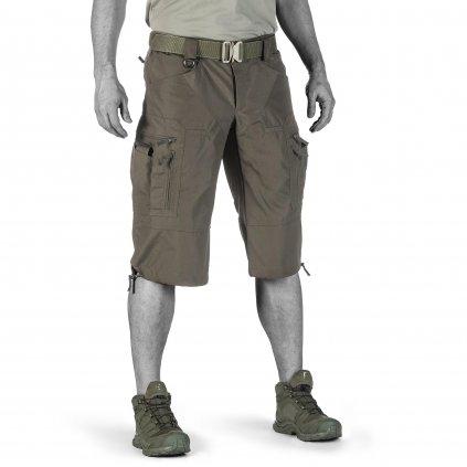 Kraťasy UF PRO P-40 Tactical Shorts Brown Grey