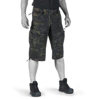 Kraťasy UF PRO P-40 Tactical Shorts Multicam Black