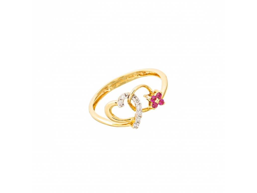 rubinovy-prsten-ze-zluteho-zlata-s-brilianty