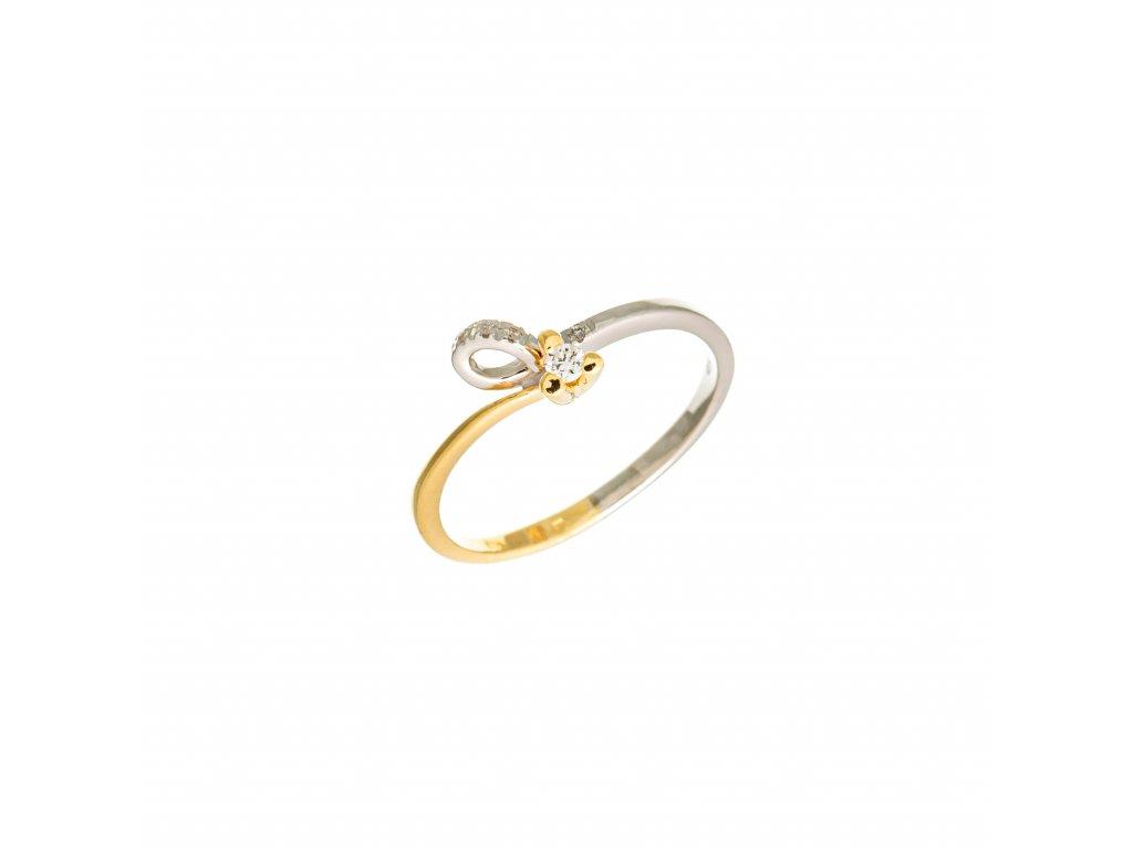 briliantovy-prsten-z-bileho-a-zluteho-zlata