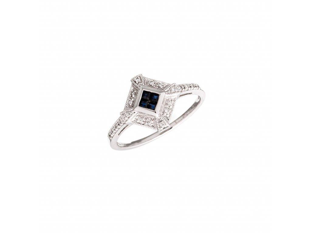 diamantovy-prsten-se-safiry-v-bilem-zlate
