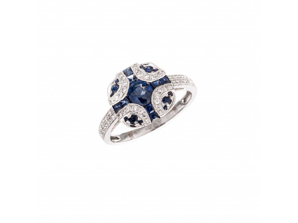 safirovy-prsten-z-bileho-zlata-s-brilianty
