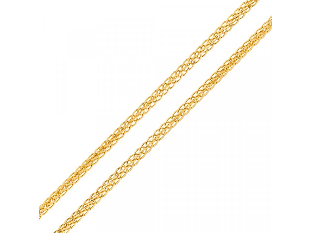 retizek-spiga-ze-zluteho-zlata-50-cm