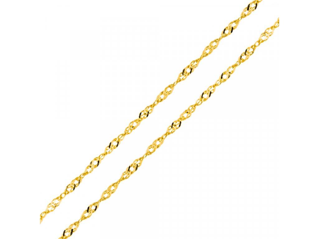 retizek-lambada-ze-zluteho-zlata-45-cm