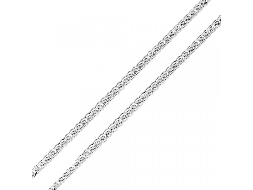 retizek-spiga-z-bileho-zlata-45-cm