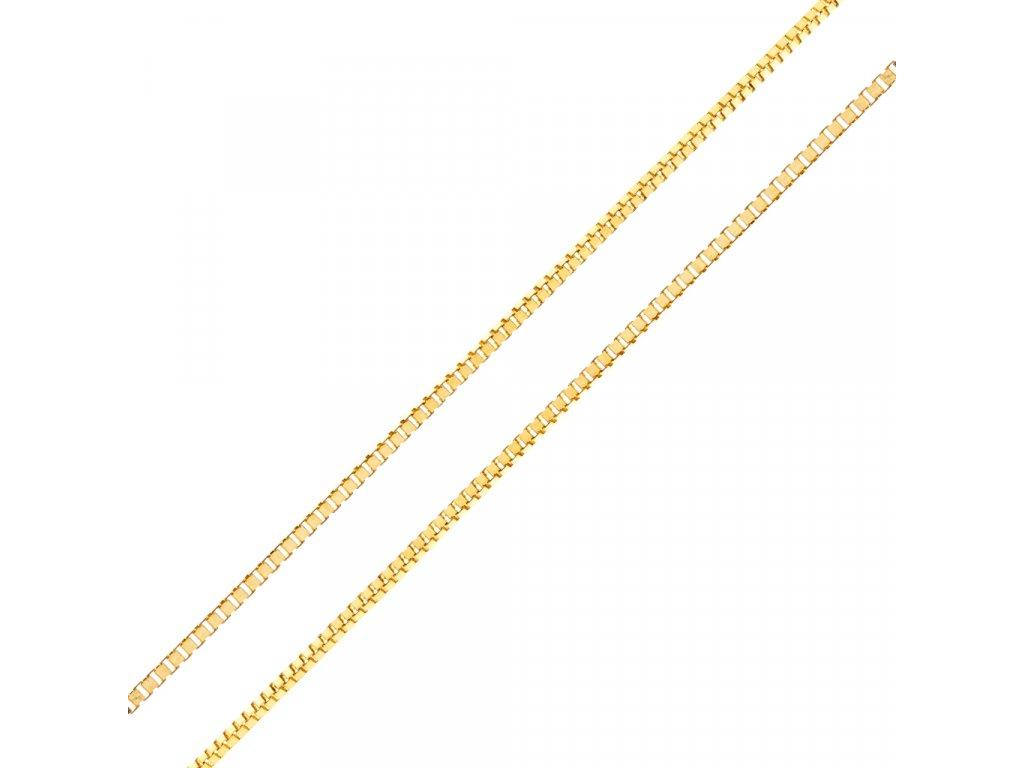 retizek-kostka-ze-zluteho-zlata-45-cm-3