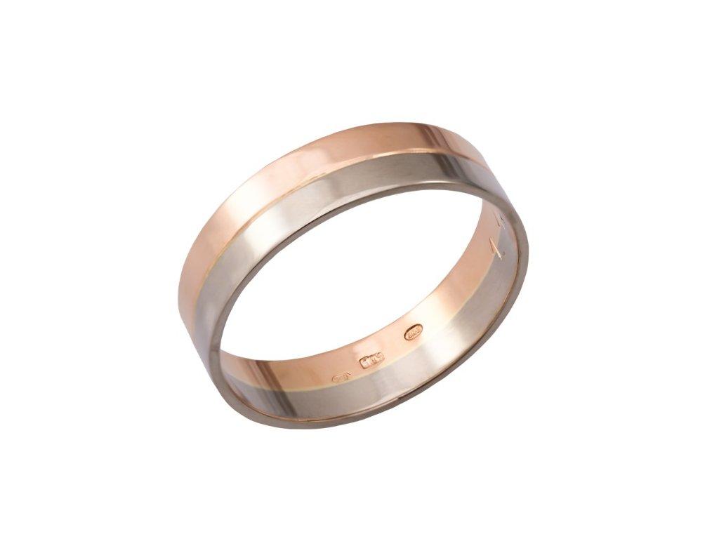 pansky-snubni-prsten-z-bileho-a-ruzoveho-zlata
