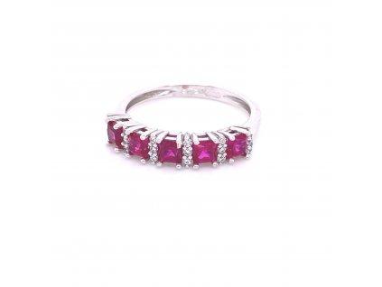 prsten-z-bileho-zlata-a-syntetickych-rubinu-a-zirkonu