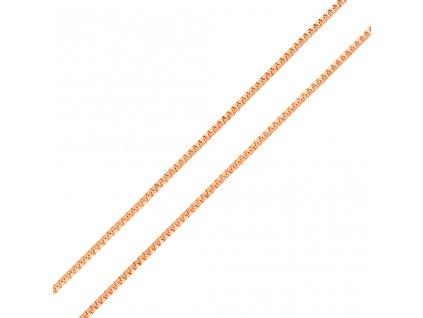 retizek-kostka-z-ruzoveho-zlata-45-cm