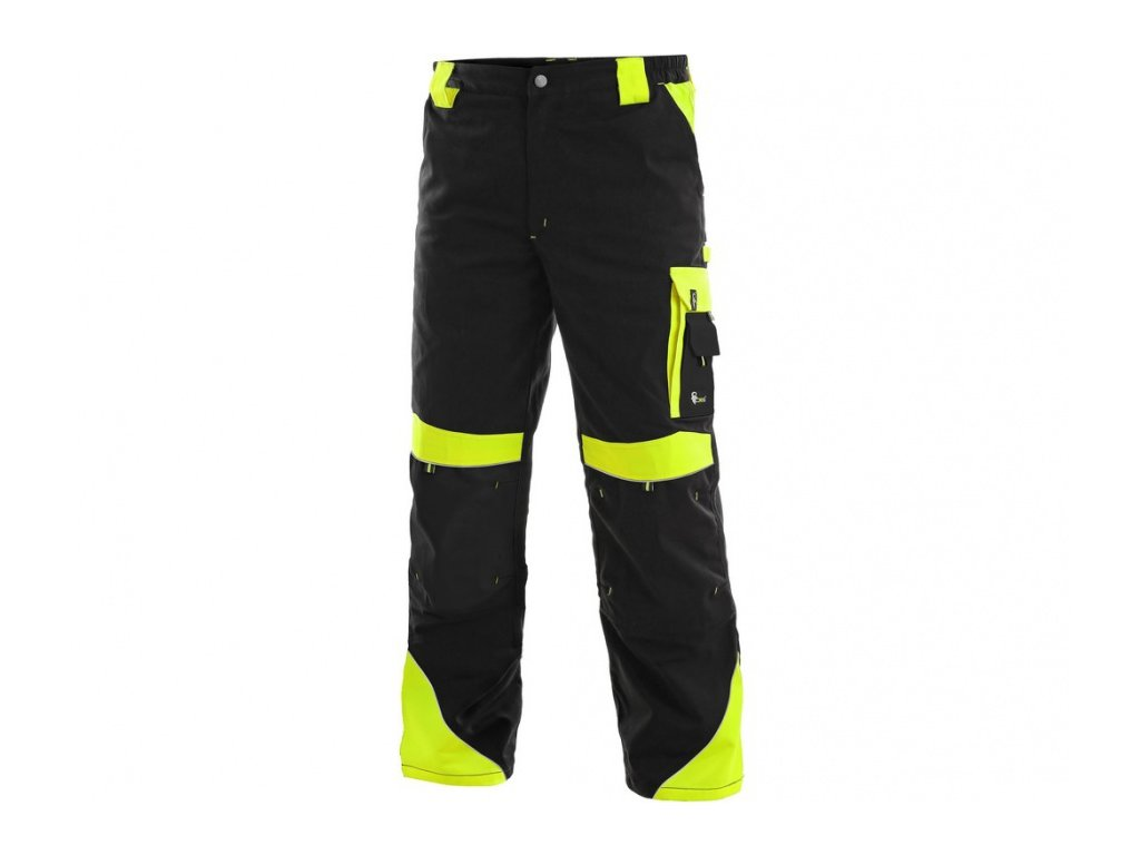 Pánské kalhoty SIRIUS BRIGHTON, černo-žlutá