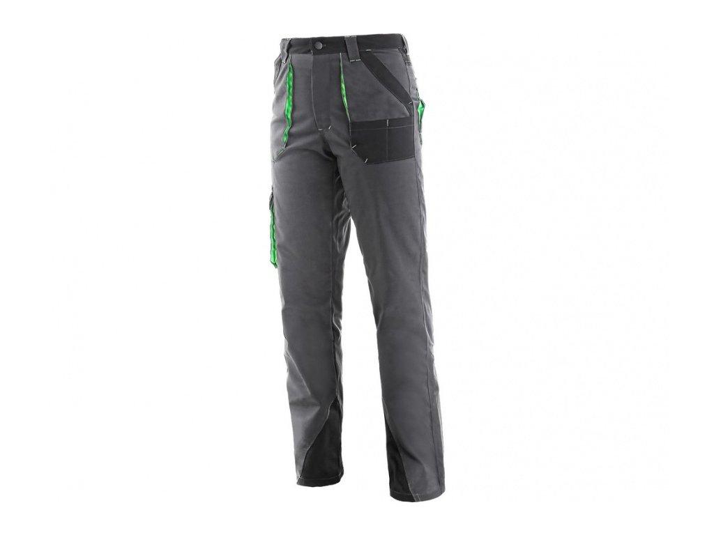 Dámské kalhoty SIRIUS AISHA, šedo-zelené