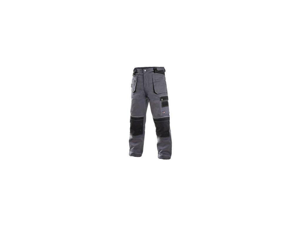 Pánské zimní kalhoty ORION TEODOR, šedo-černé