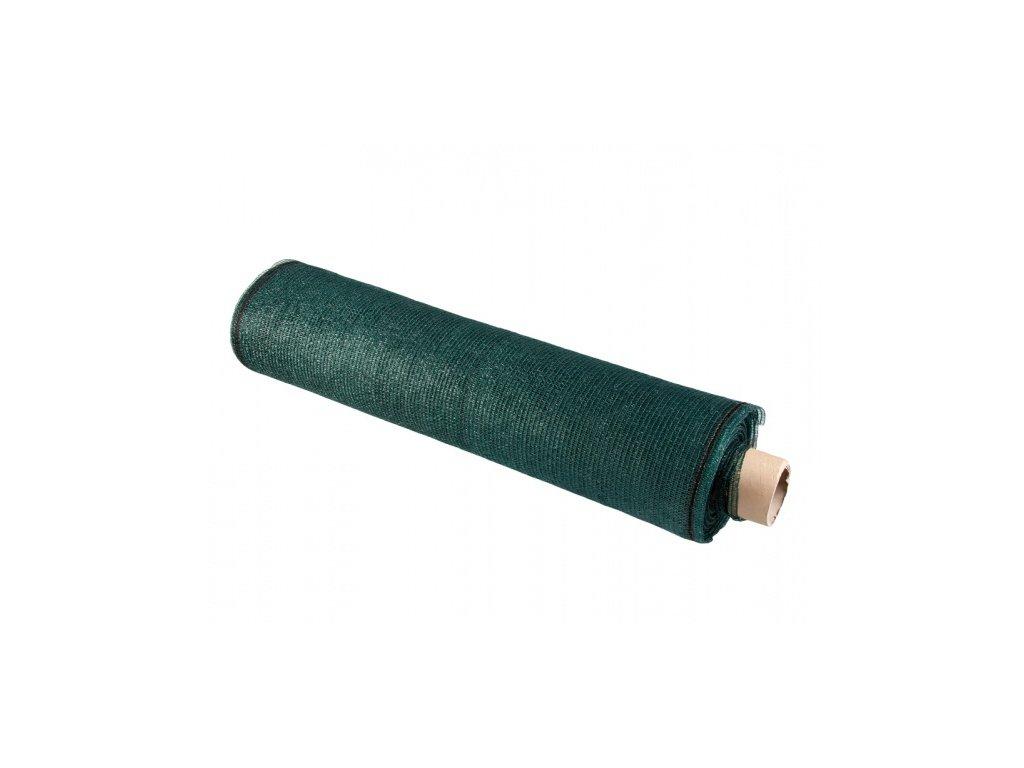 Stínovka PE zelená s oky 90% 1x100m