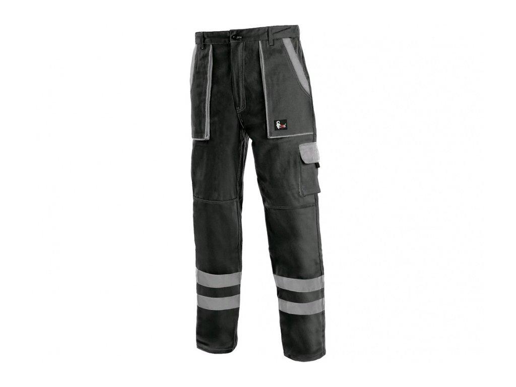 Kalhoty CXS LUXY BRIGHT, pánské, černo-šedé