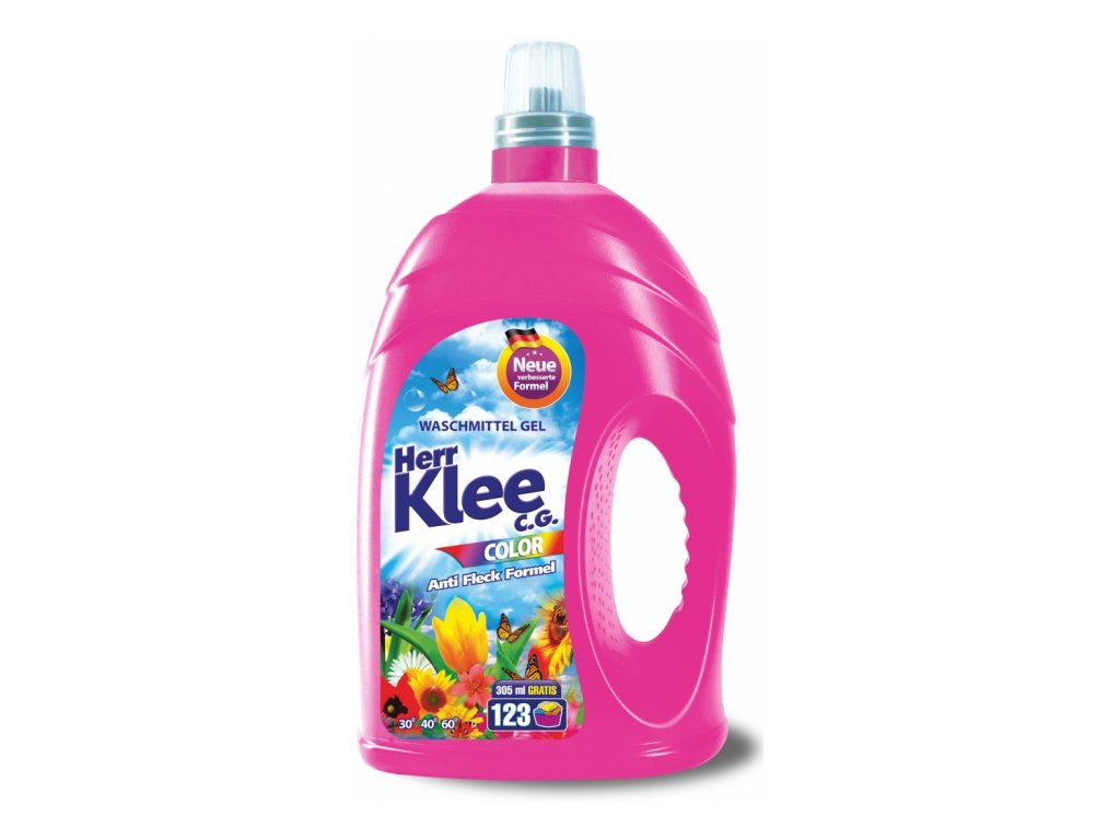Herr Klee Color - prací gel 123PD/4,305 L